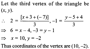 MCQ Questions for Class 10 Maths Coordinate Geometry with Answers 42