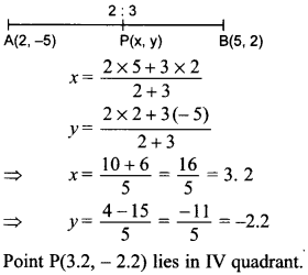 MCQ Questions for Class 10 Maths Coordinate Geometry with Answers 44