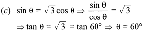 MCQ Questions for Class 10 Maths Introduction to Trigonometry with Answers 28
