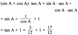MCQ Questions for Class 10 Maths Introduction to Trigonometry with Answers 36