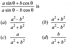 MCQ Questions for Class 10 Maths Introduction to Trigonometry with Answers 6