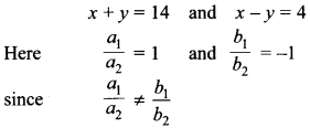 MCQ Questions for Class 10 Maths Pair of Linear Equations in Two Variables with Solutions 12