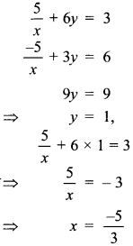 MCQ Questions for Class 10 Maths Pair of Linear Equations in Two Variables with Solutions 25