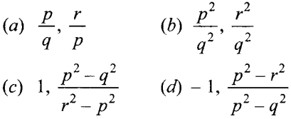 MCQ Questions for Class 10 Maths Quadratic Equations with Answers 14