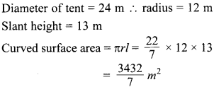 MCQ Questions for Class 10 Maths Surface Areas and Volumes with Answers 13