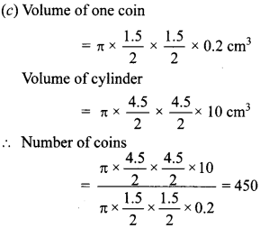 MCQ Questions for Class 10 Maths Surface Areas and Volumes with Answers 19