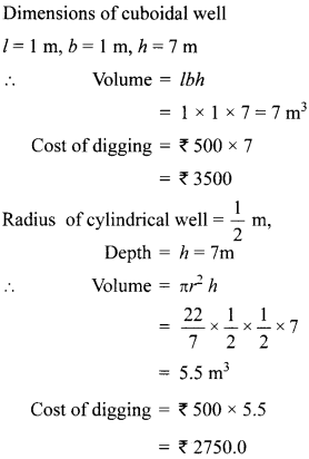 MCQ Questions for Class 10 Maths Surface Areas and Volumes with Answers 21