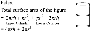 MCQ Questions for Class 10 Maths Surface Areas and Volumes with Answers 7