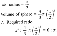 MCQ Questions for Class 10 Maths Surface Areas and Volumes with Answers 9