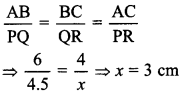 MCQ Questions for Class 10 Maths Triangles with Answers 11