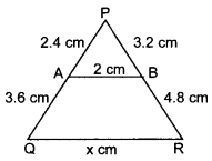 MCQ Questions for Class 10 Maths Triangles with Answers 25