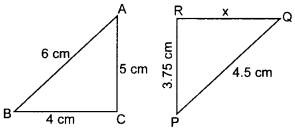 MCQ Questions for Class 10 Maths Triangles with Answers 27