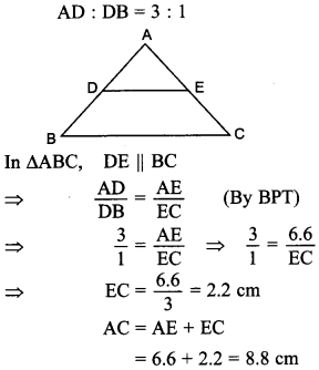 MCQ Questions for Class 10 Maths Triangles with Answers 6