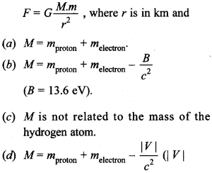Physics MCQs for Class 12 with Answers Chapter 13 Nuclei 2