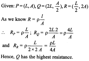 Physics MCQs for Class 12 with Answers Chapter 3 Current Electricity 33
