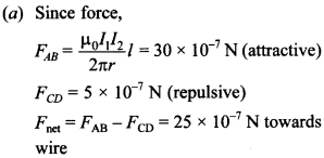 Physics MCQs for Class 12 with Answers Chapter 4 Moving Charges and Magnetism 16