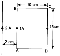 Physics MCQs for Class 12 with Answers Chapter 4 Moving Charges and Magnetism 8