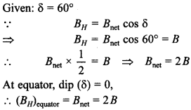 Physics MCQs for Class 12 with Answers Chapter 5 Magnetism and Matter 10