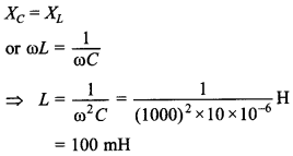 Alternating Current Class 12 MCQ