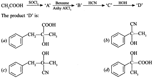 Chemistry MCQs for Class 12 Chapter wise with Answers Pdf