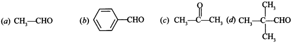 Chemistry MCQs for Class 12 with Answers Chapter 12 Aldehydes, Ketones and Carboxylic Acids 16