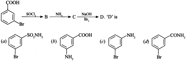 MCQ on Aldehydes Ketones and Carboxylic Acids