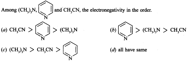 Chemistry MCQs for Class 12 with Answers Chapter 13 Amines 7