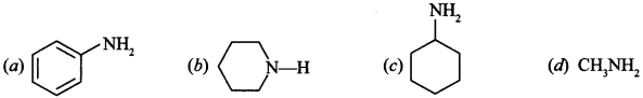 Chemistry MCQs for Class 12 with Answers Chapter 13 Amines 9
