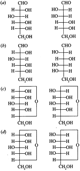 Chemistry MCQs for Class 12 with Answers Chapter 14 Biomolecules 1