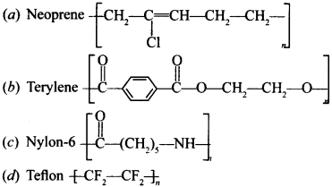 Chemistry MCQs for Class 12 with Answers Chapter 15 Polymers 3