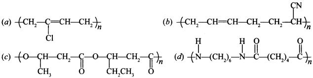 Chemistry MCQs for Class 12 with Answers Chapter 15 Polymers 4