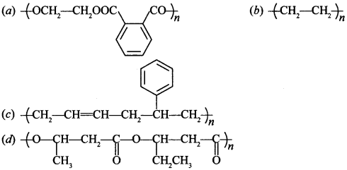Chemistry MCQs for Class 12 with Answers Chapter 15 Polymers 5