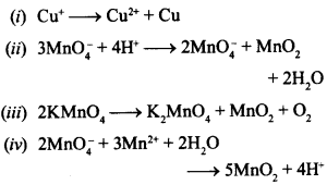 Chemistry MCQs for Class 12 with Answers Chapter 8 The d-and f-Block Elements 2