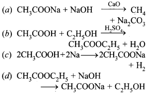 MCQ Questions for Class 10 Science Carbon and Its Compounds with Answers 9