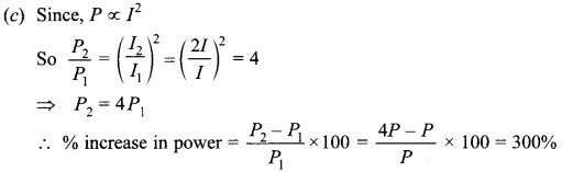 MCQ Questions for Class 10 Science Electricity with Answers 22