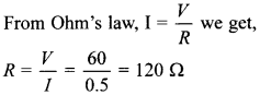 MCQ Questions for Class 10 Science Electricity with Answers 26