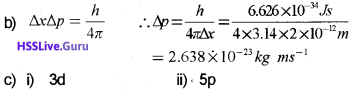 Plus One Chemistry Chapter Wise Questions and Answers Chapter 2 Structure of Atom 22