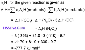 Plus One Chemistry Chapter Wise Questions and Answers Chapter 6 Thermodynamics 6