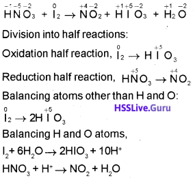 Plus One Chemistry Chapter Wise Questions and Answers Chapter 8 Redox Reactions 5