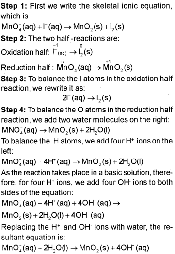 Plus One Chemistry Notes Chapter 8 Redox Reactions 4