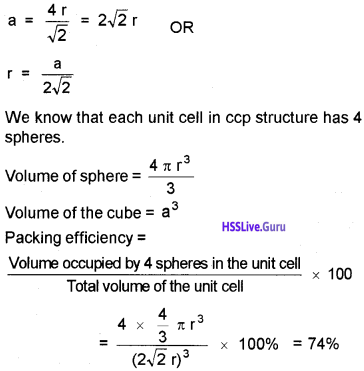 Plus Two Chemistry Notes Chapter 1 The Solid State 16