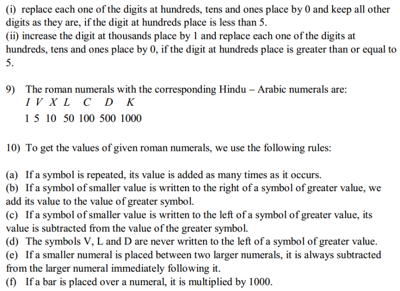Knowing Our Numbers Formulas for Class 6 Q3