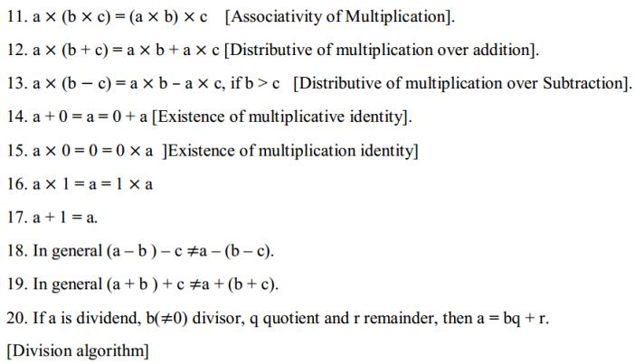 Basic Geometrical Ideas Formulas for Class 6 Q2