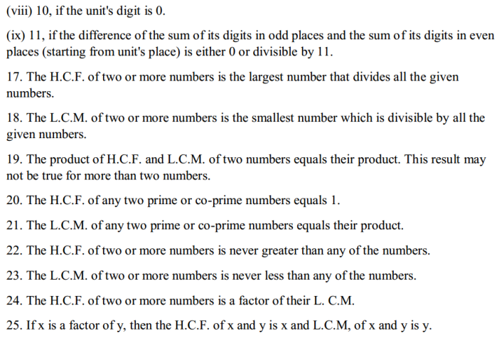 Whole Numbers Formulas for Class 6 Q3